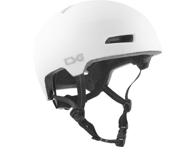 TSG Status Solid Color Helm satin white